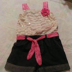 One piece frilly blingy Jumper